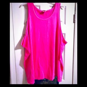 Comfort Colors Hot Pink Summer Tank